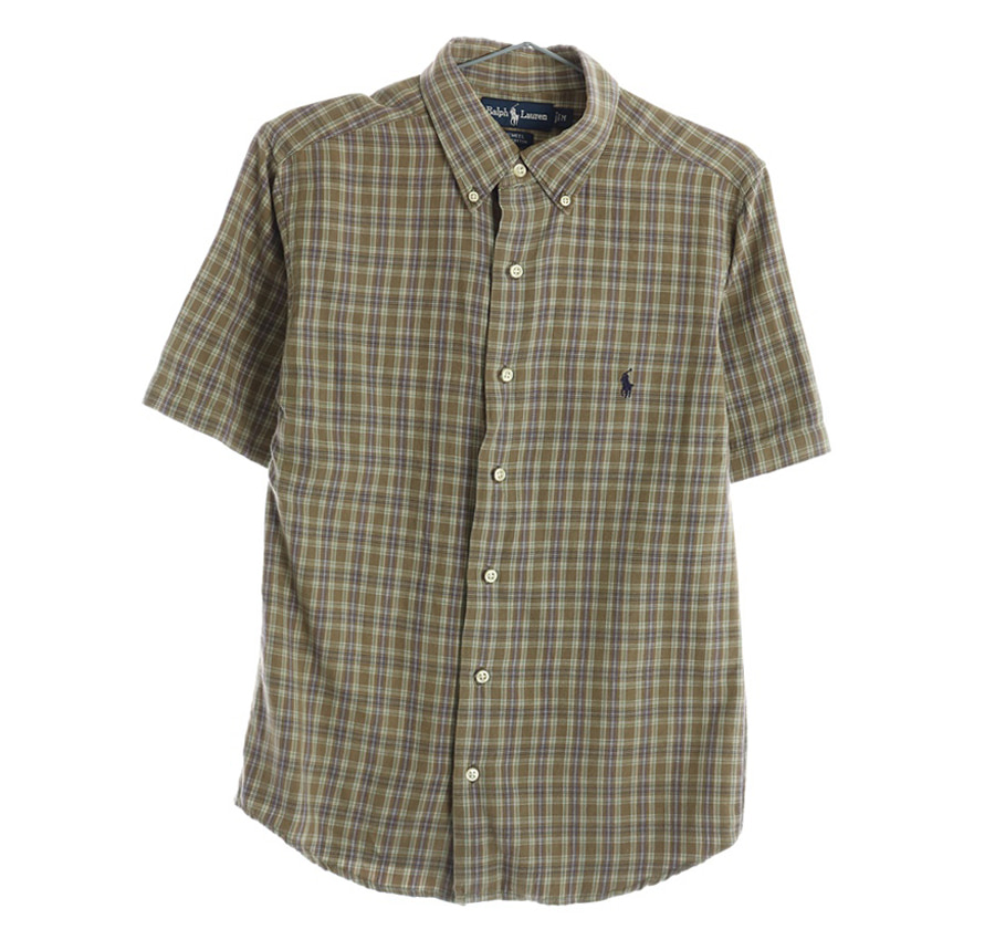TOMMY HILFIGER체크 셔츠     1346n   UNISEX(L)