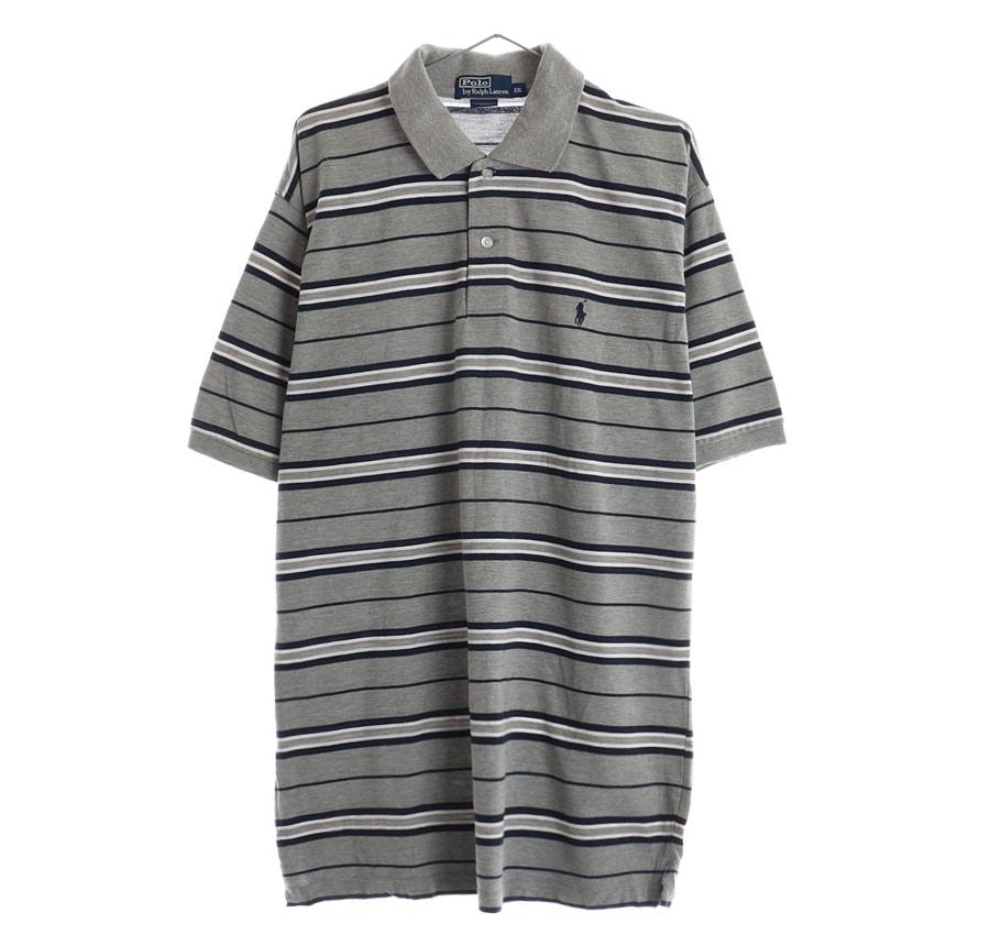 RALPH LAUREN체크 셔츠     1443n   UNISEX(XL)