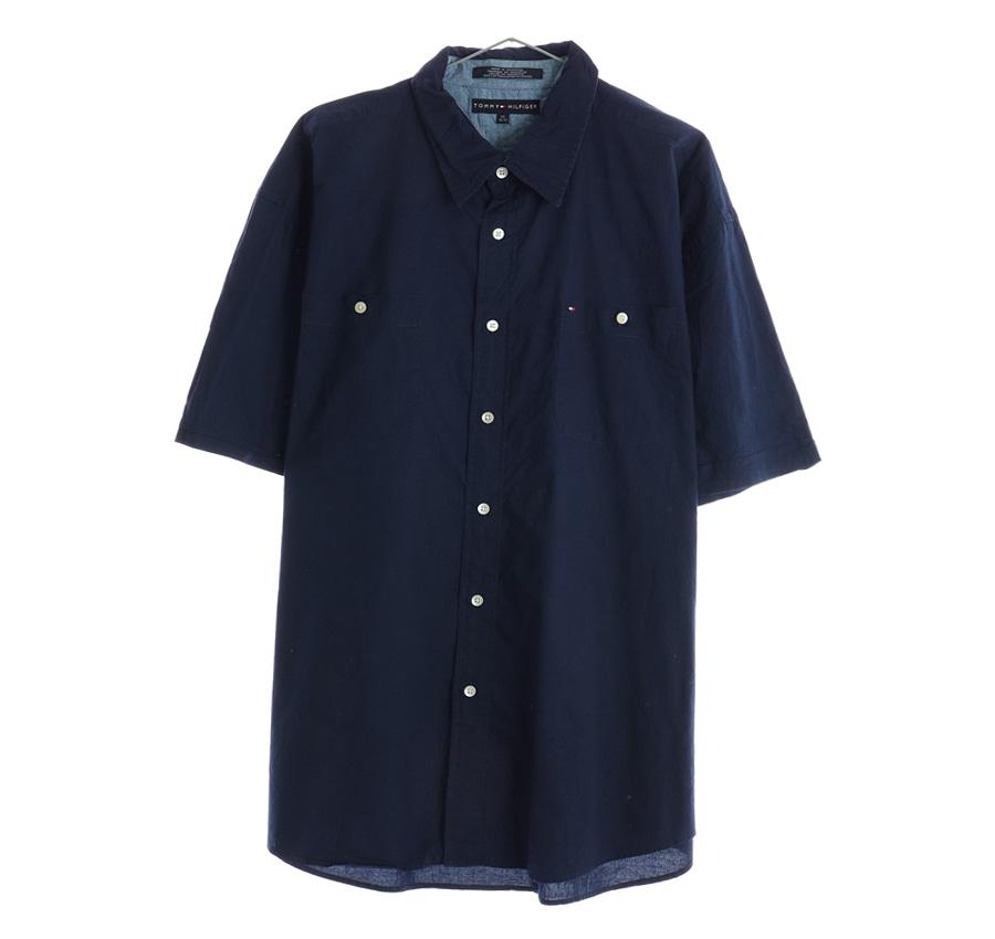 RALPH LAUREN체크 반팔 셔츠     1457n   UNISEX(L)