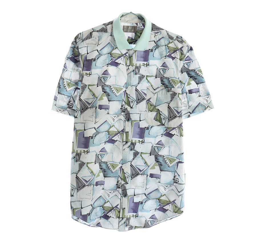TOMMY HILFIGER반팔 셔츠     1467n   UNISEX(L)