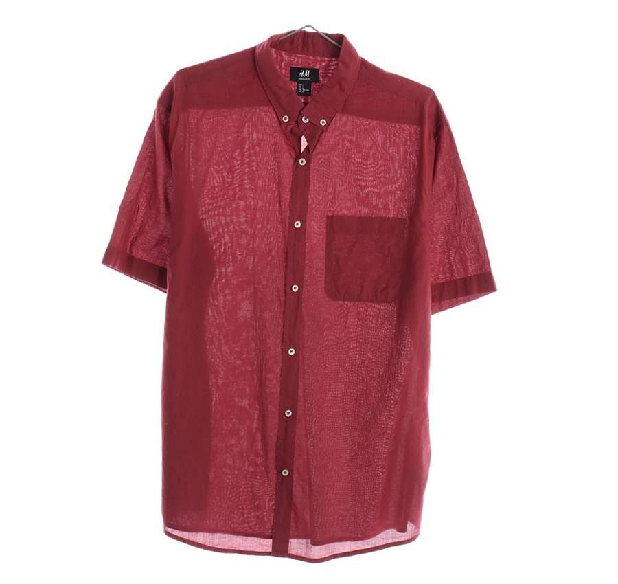 RALPH LAUREN스트라이프 셔츠     1684n   UNISEX(XL)