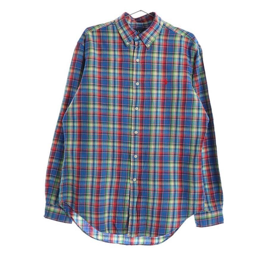 TOMMY HILFIGER체크 셔츠     191n   UNISEX(L)