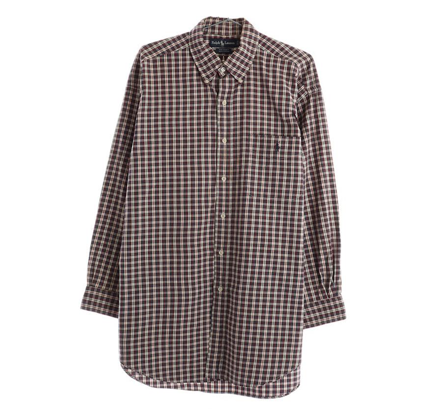 RALPH LAUREN스트라이프 셔츠 (민트급)    193n   UNISEX(M)