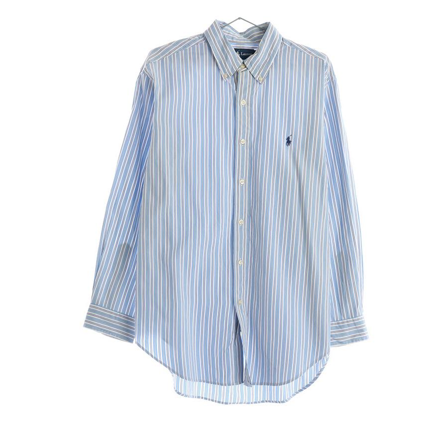 RALPH LAUREN체크 셔츠     195n   UNISEX(L)