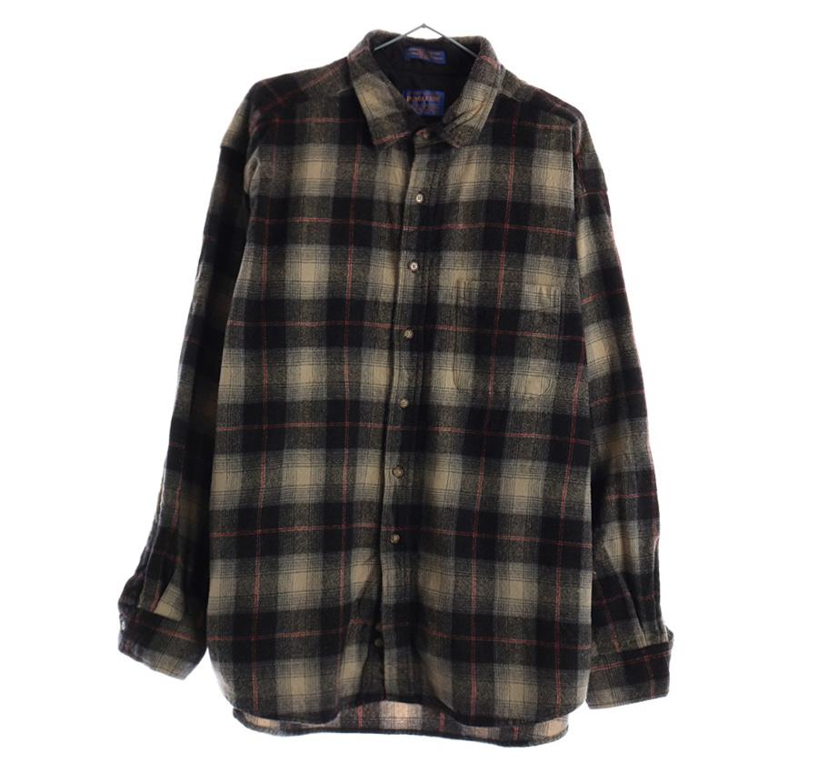 RALPH LAUREN스트라이프 셔츠     197n   UNISEX(XL)