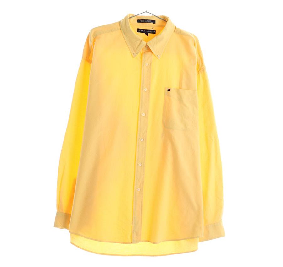 TOMMY HILFIGER체크 반팔 셔츠     199n   UNISEX(L)