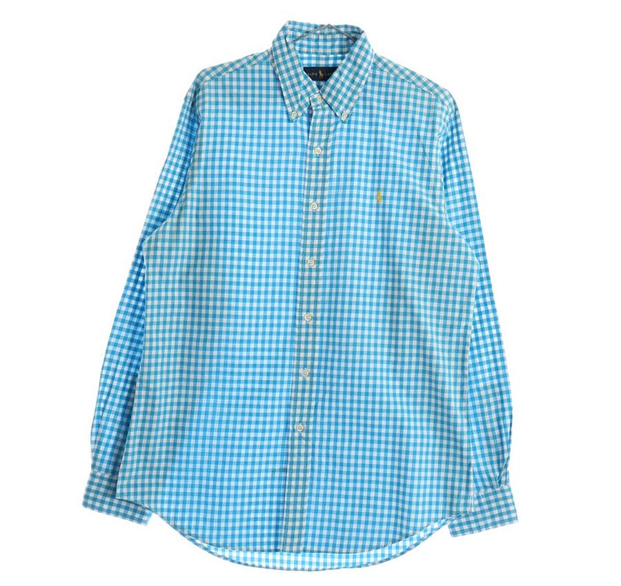 TOMMY HILFIGER체크 반팔 셔츠     207n   UNISEX(M)