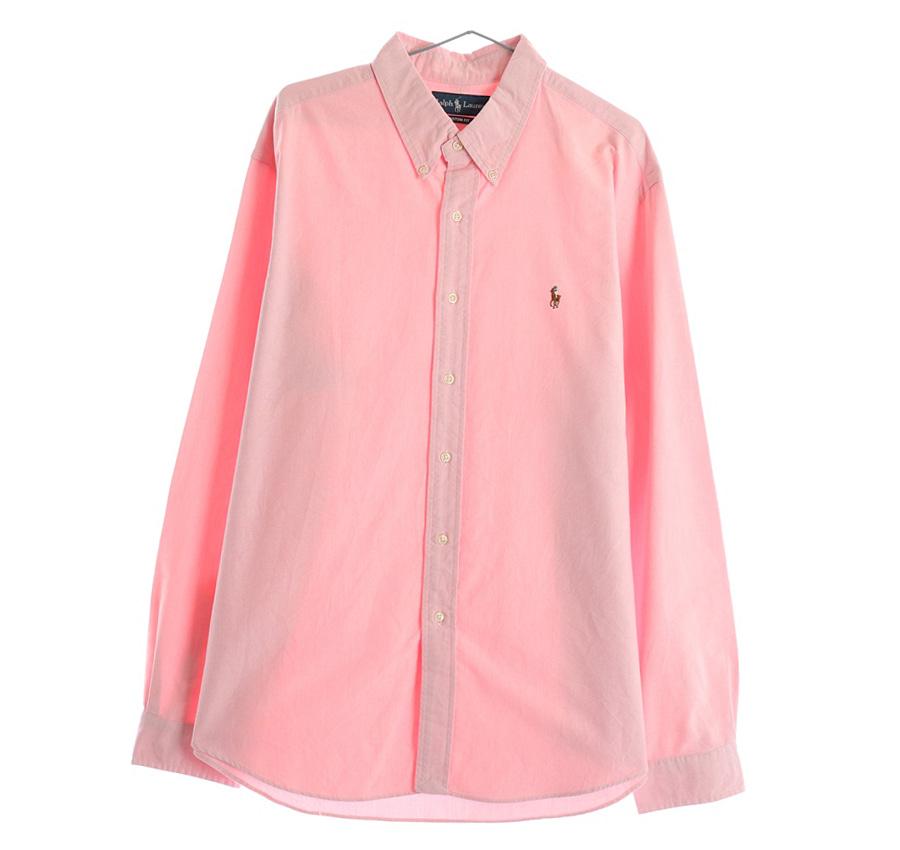 RALPH LAUREN스트라이프 셔츠     215n   UNISEX(L)