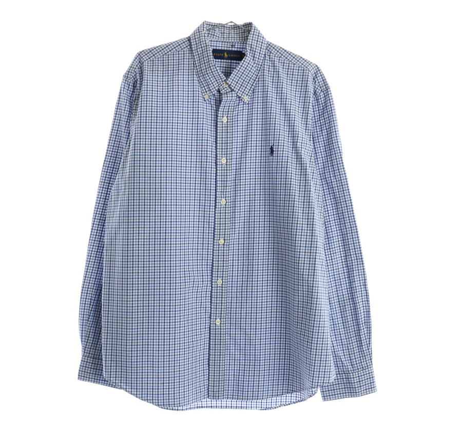 ROBINSON체크 반팔 셔츠     86n   UNISEX(L)